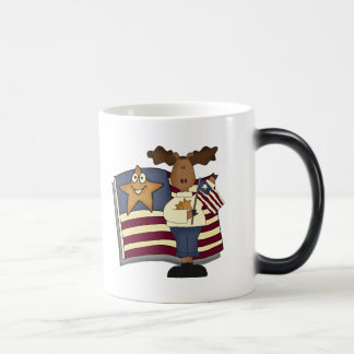 Mug Magic T-shirts et cadeaux patriotiques d'orignaux