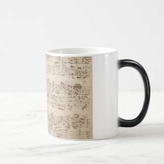 Mug Magic Vieilles notes de musique - feuille de musique de