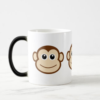 Mug Magic Visage mignon de singe de bébé