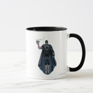 Mug Main noire avec le crâne 1