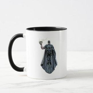 Mug Main noire avec le crâne 2
