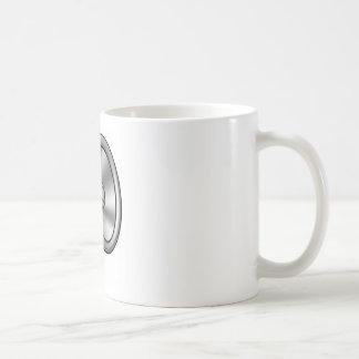 Mug Main tenant le mégaphone