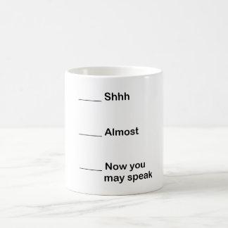 Mug Maintenant vous pouvez parler