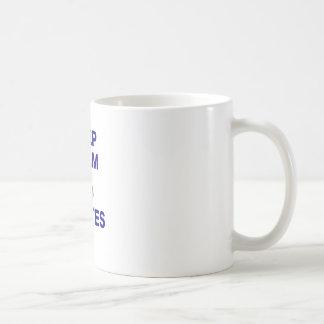 Mug Maintenez calme et faites Pilates
