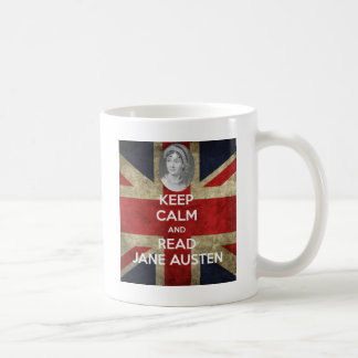 Mug Maintenez calme et lisez Jane Austen