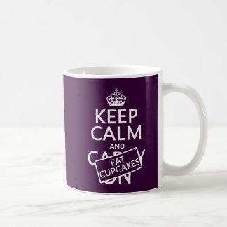Mug Maintenez calme et mangez les petits gâteaux
