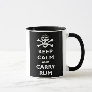 Mug Maintenez calme et portez le rhum