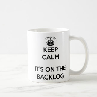 Mug Maintenez le calme son dessus l'arriéré