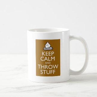 Mug Maintenez substance calme et de jet