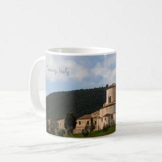 Mug Maison de paysage de campagne de la Toscane,