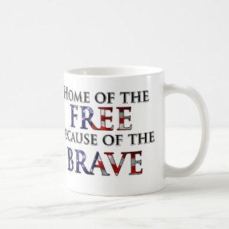 Mug Maison du libre en raison du courageux