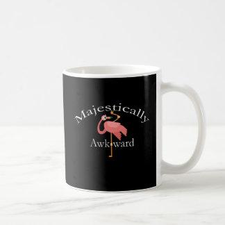 Mug Majestueux maladroit Introverts le flamant rose