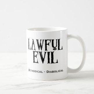 """Mug """"Mal légal """""""