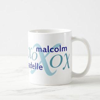 Mug Malcolm et séries d'Adelle
