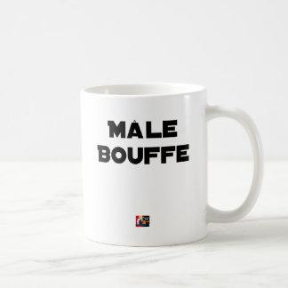 Mug MÂLE BOUFFE - Jeux de mots - Francois Ville