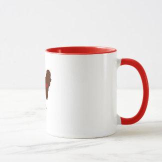 Mug Maman de Bichon Frise [style de tatouage]