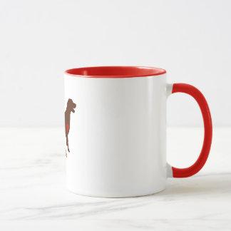 Mug Maman de Labrador [style de tatouage]