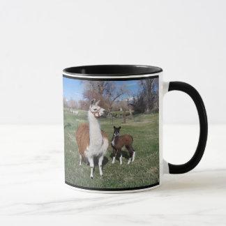 Mug Maman de lama et bébé de lama