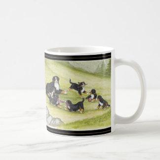 Mug Maman et chiots