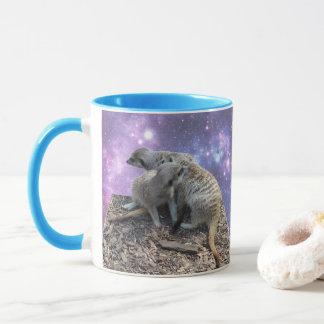 Mug Maman Meerkat et son chiot,
