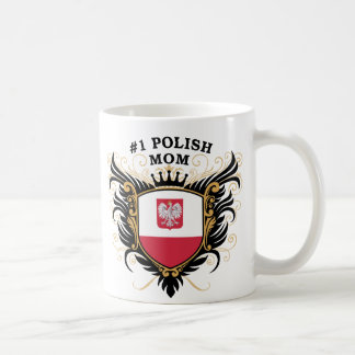 Mug Maman polonaise du numéro un