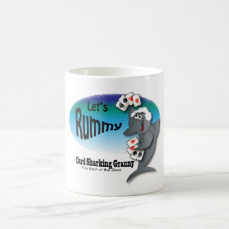 Mug Mamie de Sharking de carte