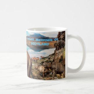Mug Mammifères antiques de l'Ecosse