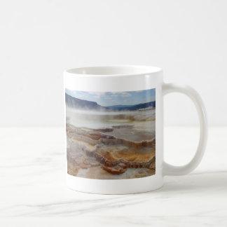 Mug Mammoth Hot Springs Yellowstone