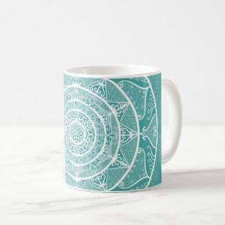 Mug Mandala impeccable bleu
