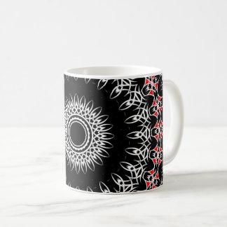 Mug Mandala tribal celtique (rouge)