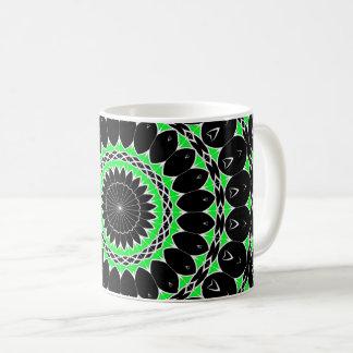 Mug Mandala tribal celtique (vert)