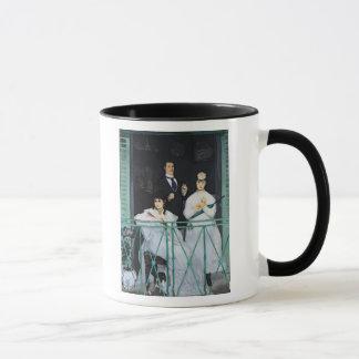 Mug Manet   le balcon, 1868-9