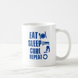 Mug Mangez la boucle de sommeil