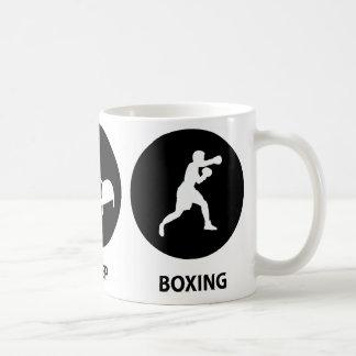 Mug Mangez la boxe de sommeil