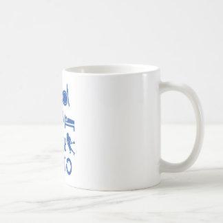 Mug Mangez la lacrosse de sommeil