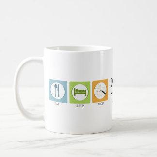 Mug Mangez l'audit de sommeil !