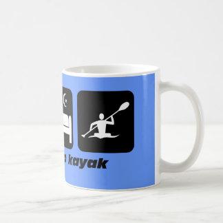Mug mangez le kayak de sommeil