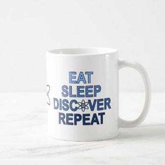 Mug Mangez le sommeil découvrent la répétition