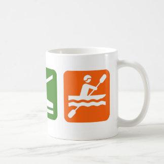 Mug Mangez le sommeil Kayaking