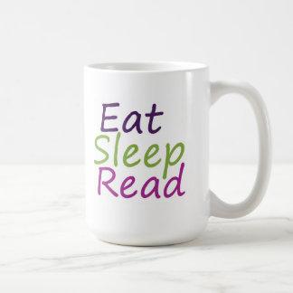 Mug Mangez le sommeil lu