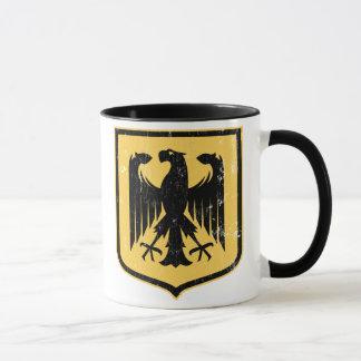 Mug Manteau d'Allemand Eagle - du Deutschland des bras