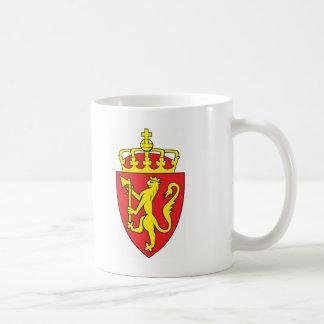 Mug Manteau de la Norvège des bras