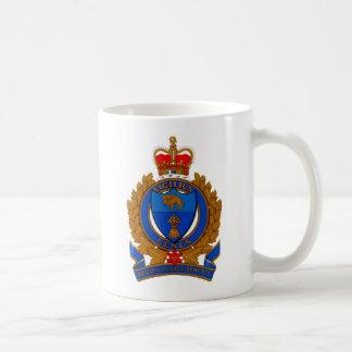 Mug Manteau de police de Regina des bras