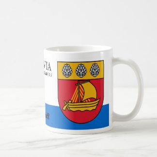 Mug Manteau de voilier des bras de Valdemarpils