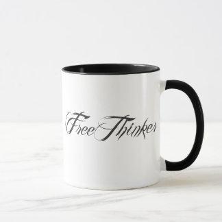 Mug Manuscrit de libre penseur