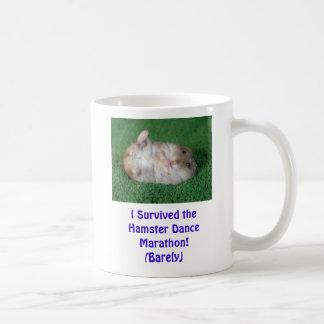 Mug Marathon de danse de hamster !