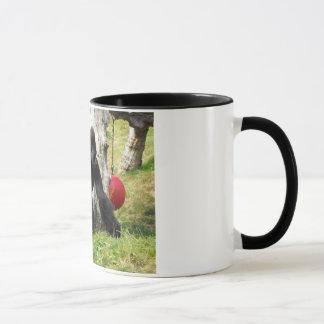 Mug Marche de gorille de silverback de plaine