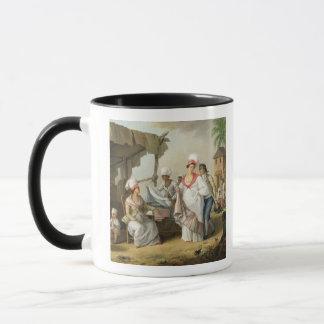 Mug Marché de toile, Roseau, Dominique, c.1780