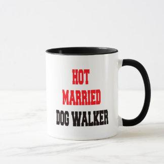 Mug Marcheur marié chaud de chien
