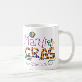 Mug Mardi gras personnalisé